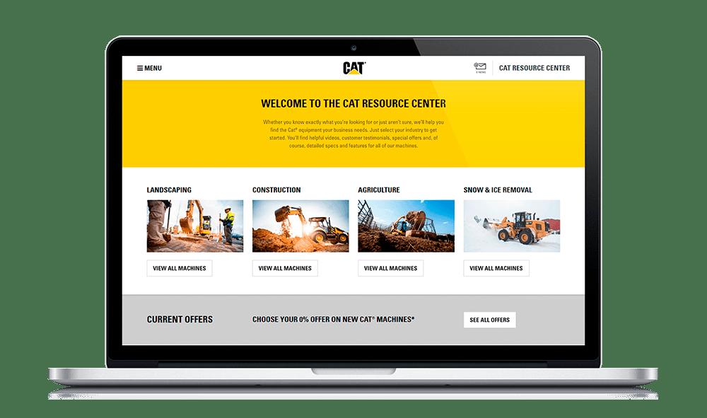 Cat Resource Center Homepage
