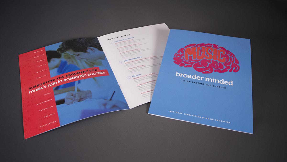 NAfME Broader minded brochure