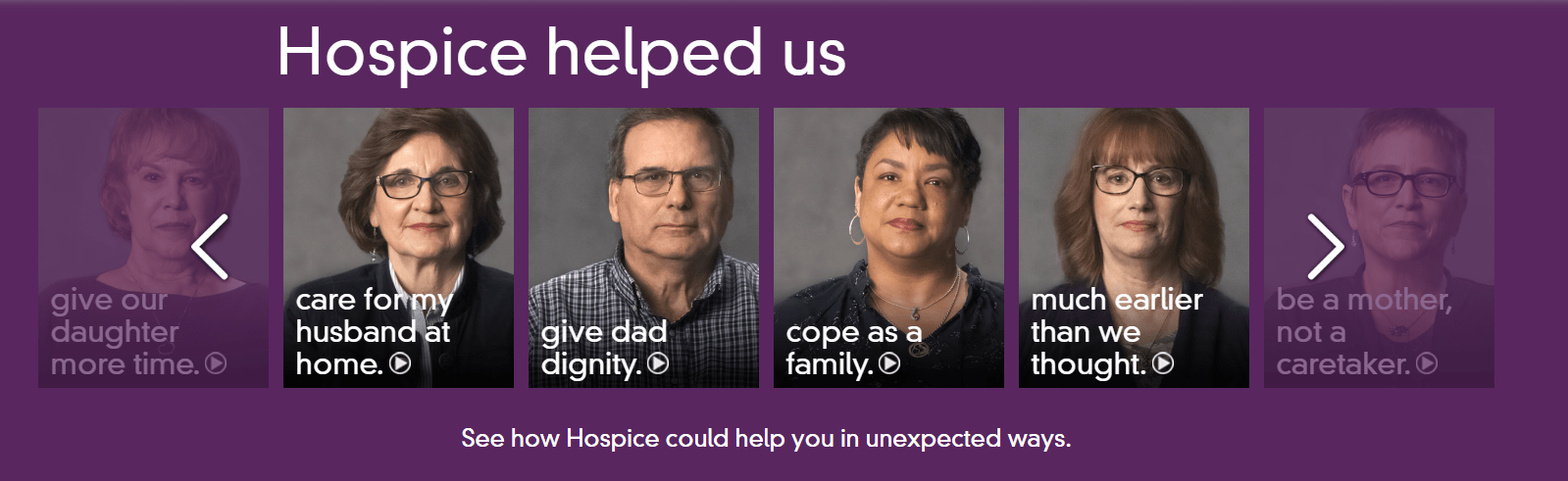 How Hospice Helped Us