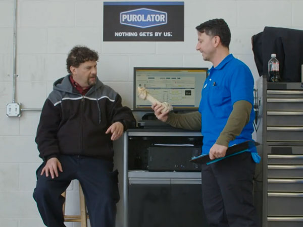 Purolator: Auto Shop Prank