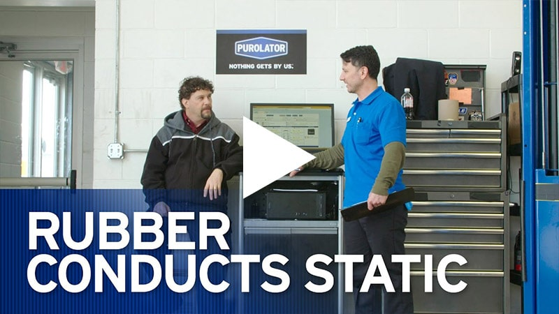 Video: Rubber Conducts Static